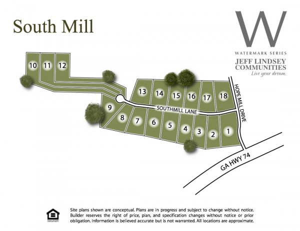 South Mill Site Map