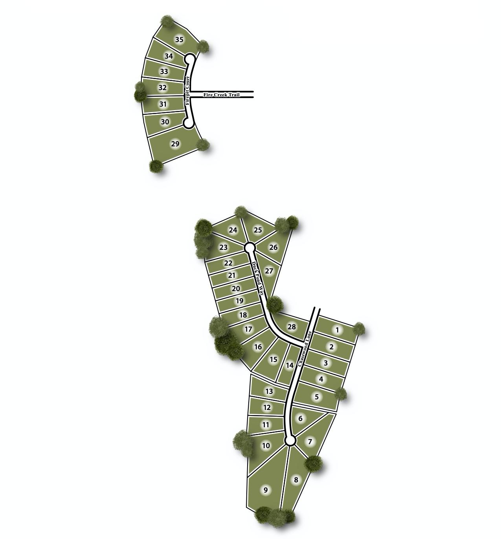 Walden Pond Site Map