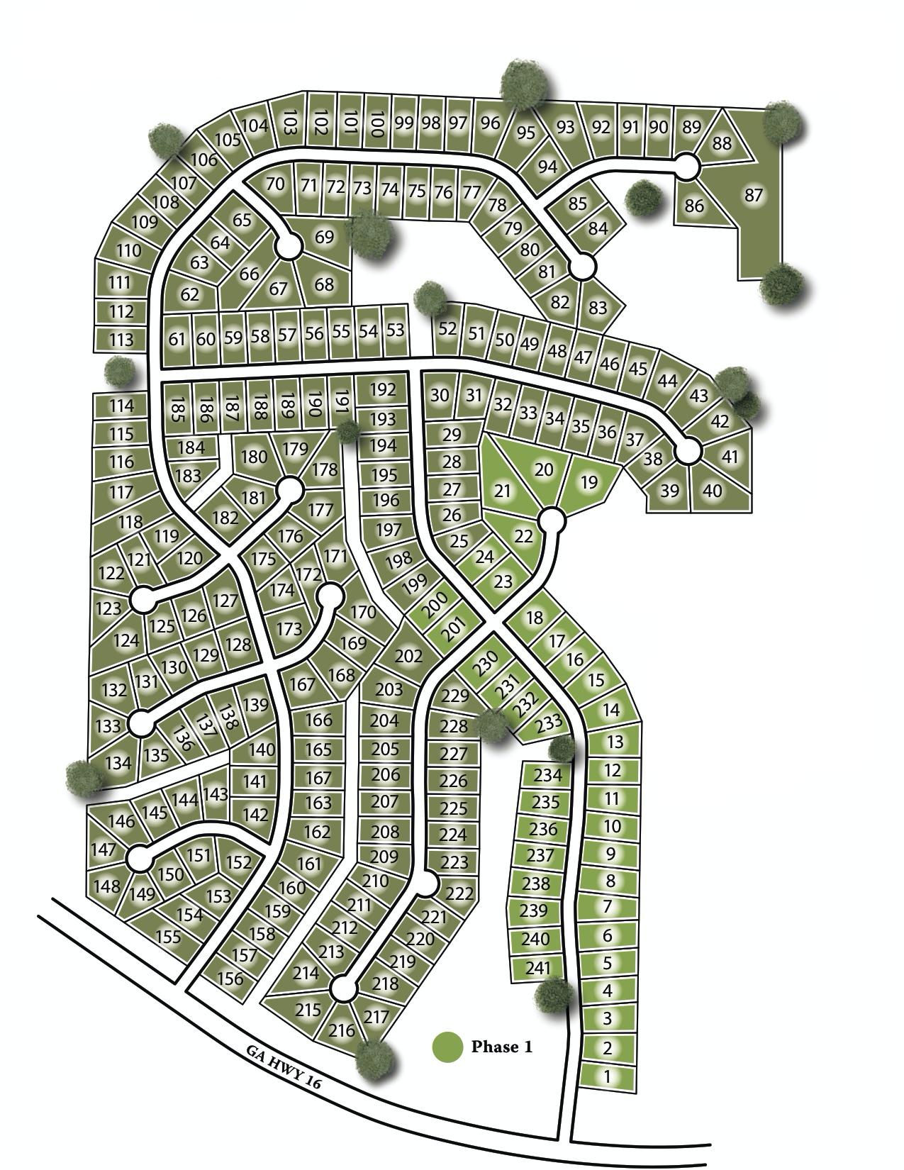 Fieldstone Site Map