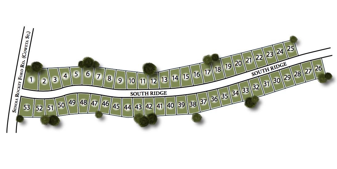South Ridge Site Map