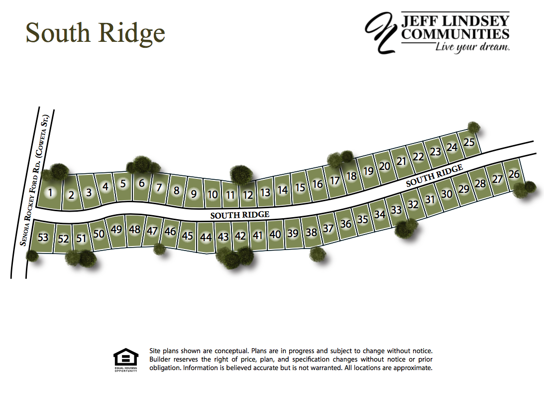 South Ridge Site Map