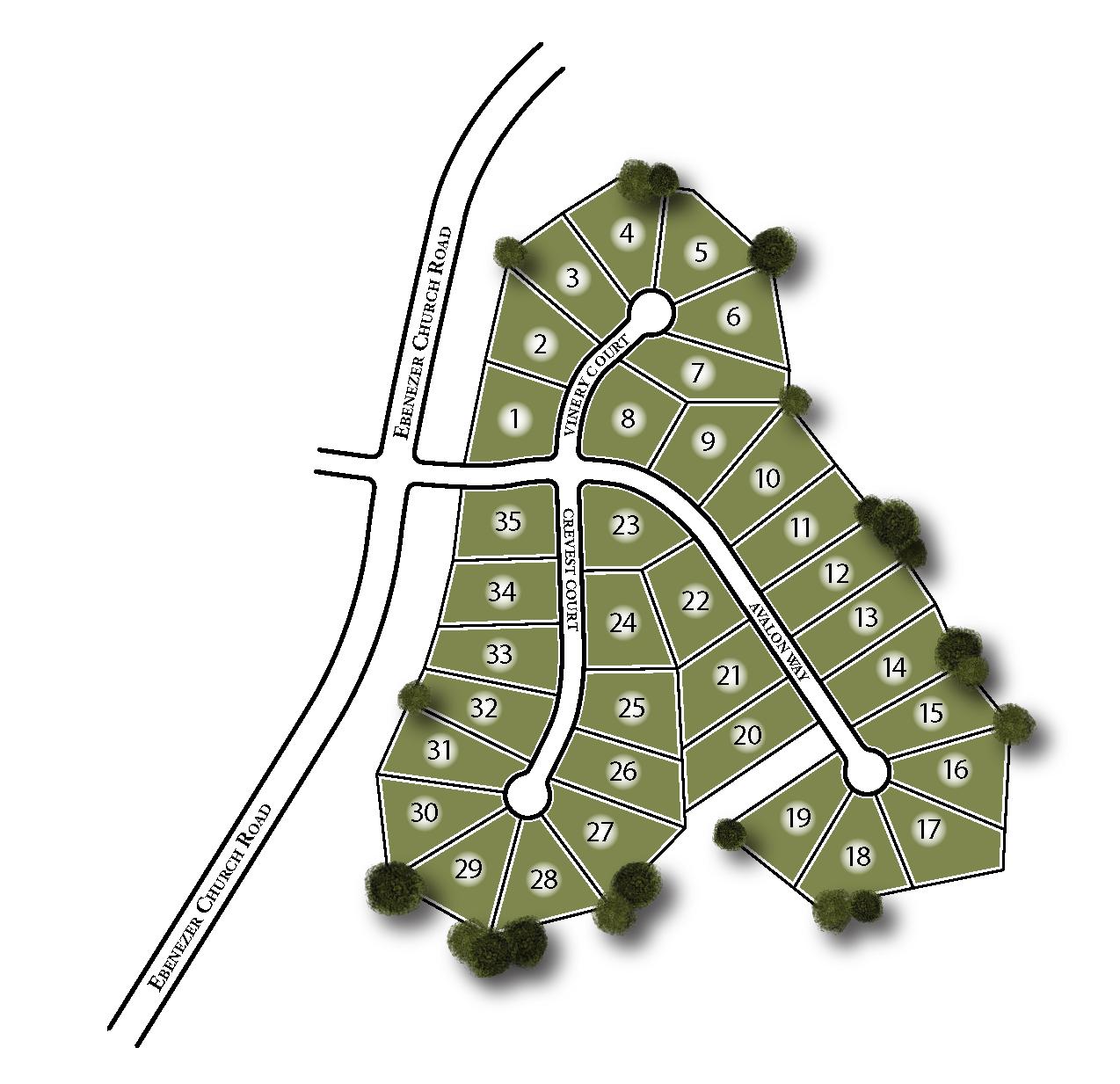 Avalon Site Map