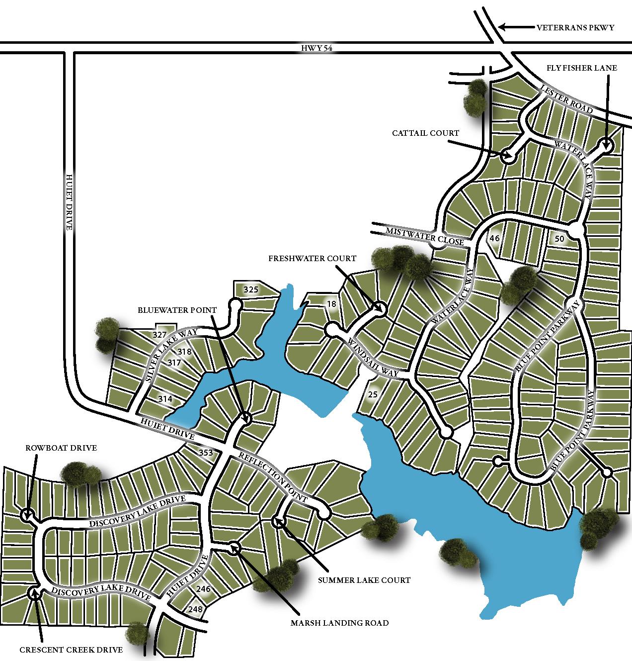 Canoe Club Site Map