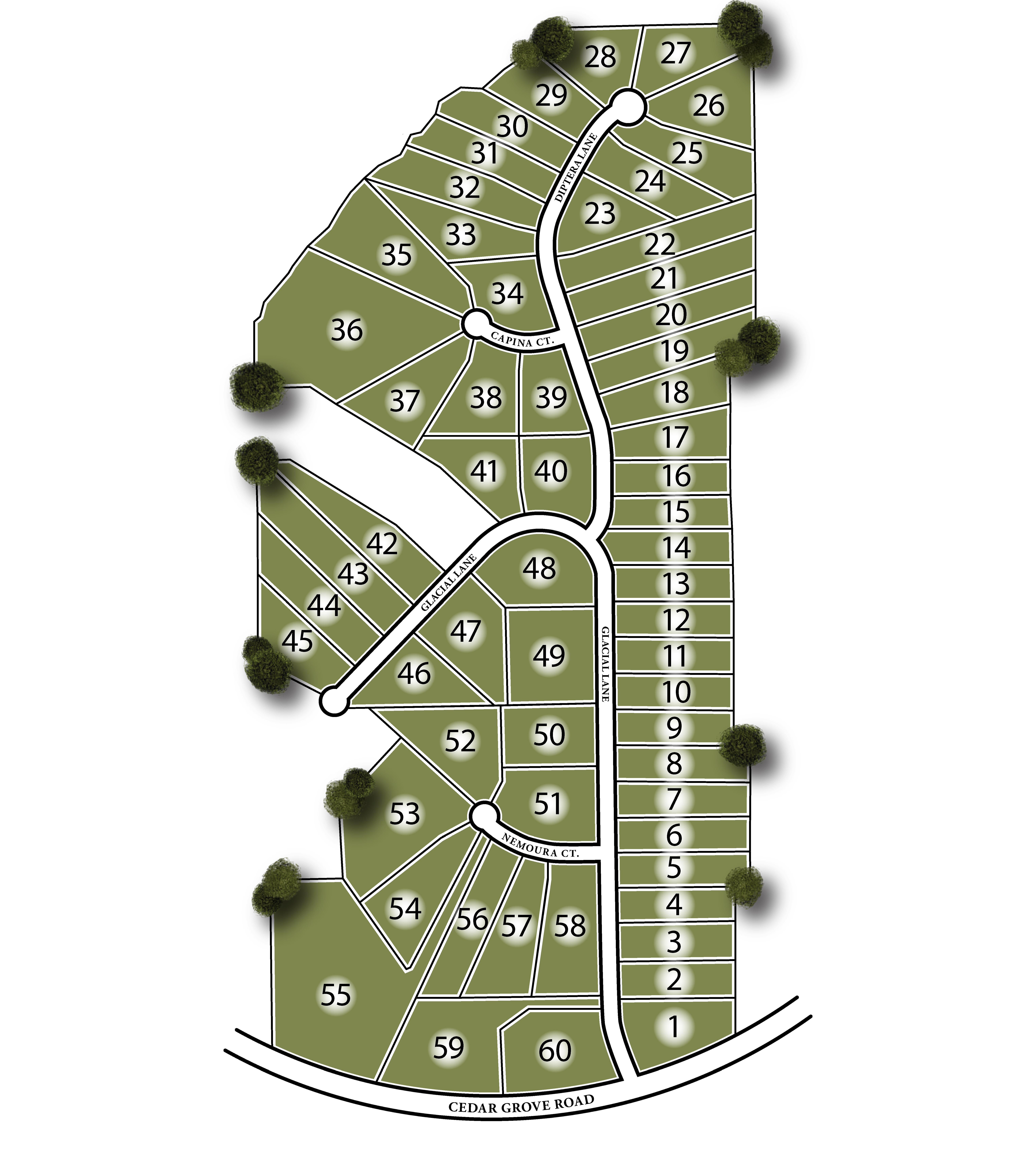 Heatherwood Manor Site Map