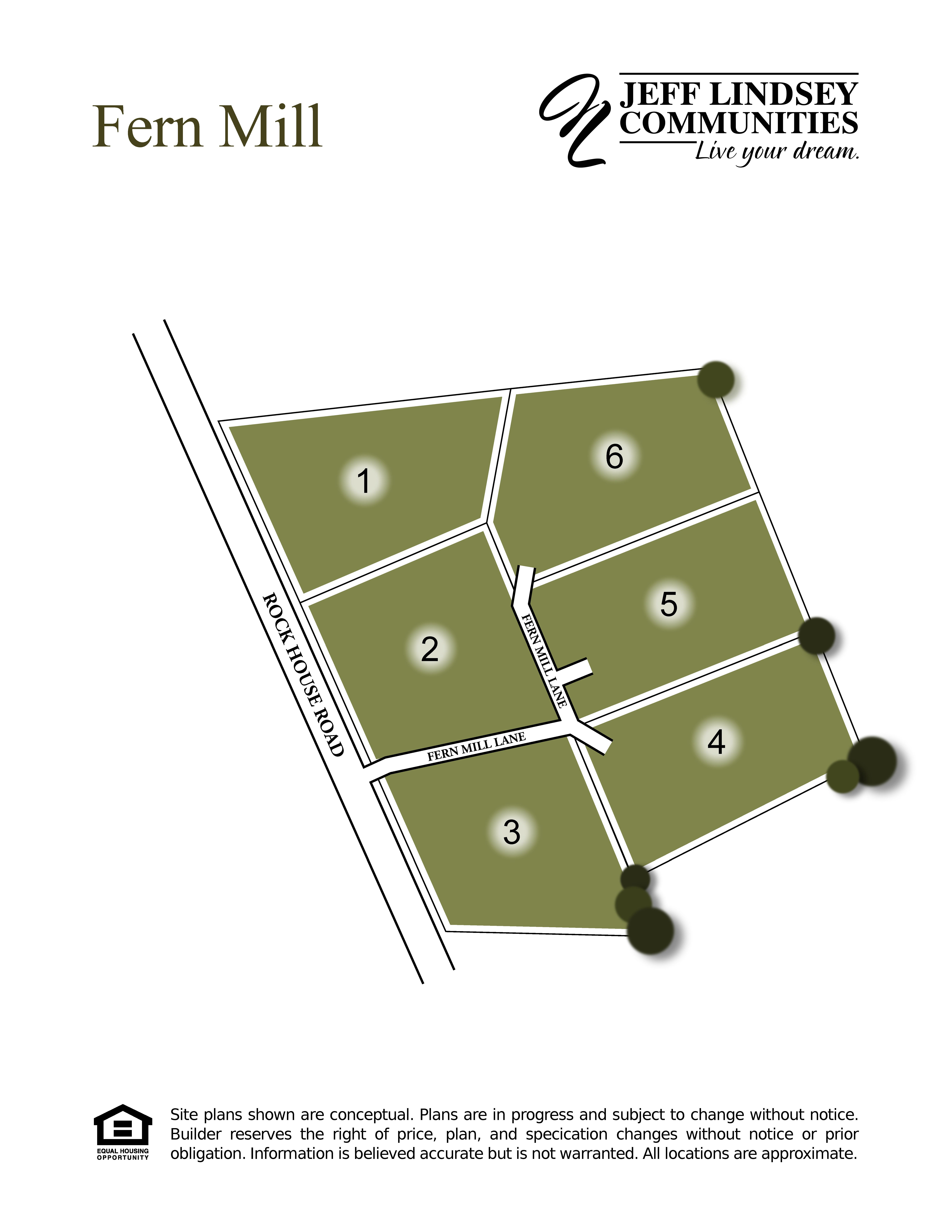 Fern Mill Site Map