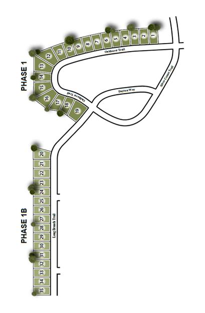 Twelve Parks Phase 1B Site Map