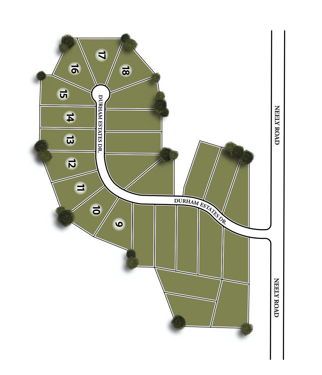Durham Estates Site Map