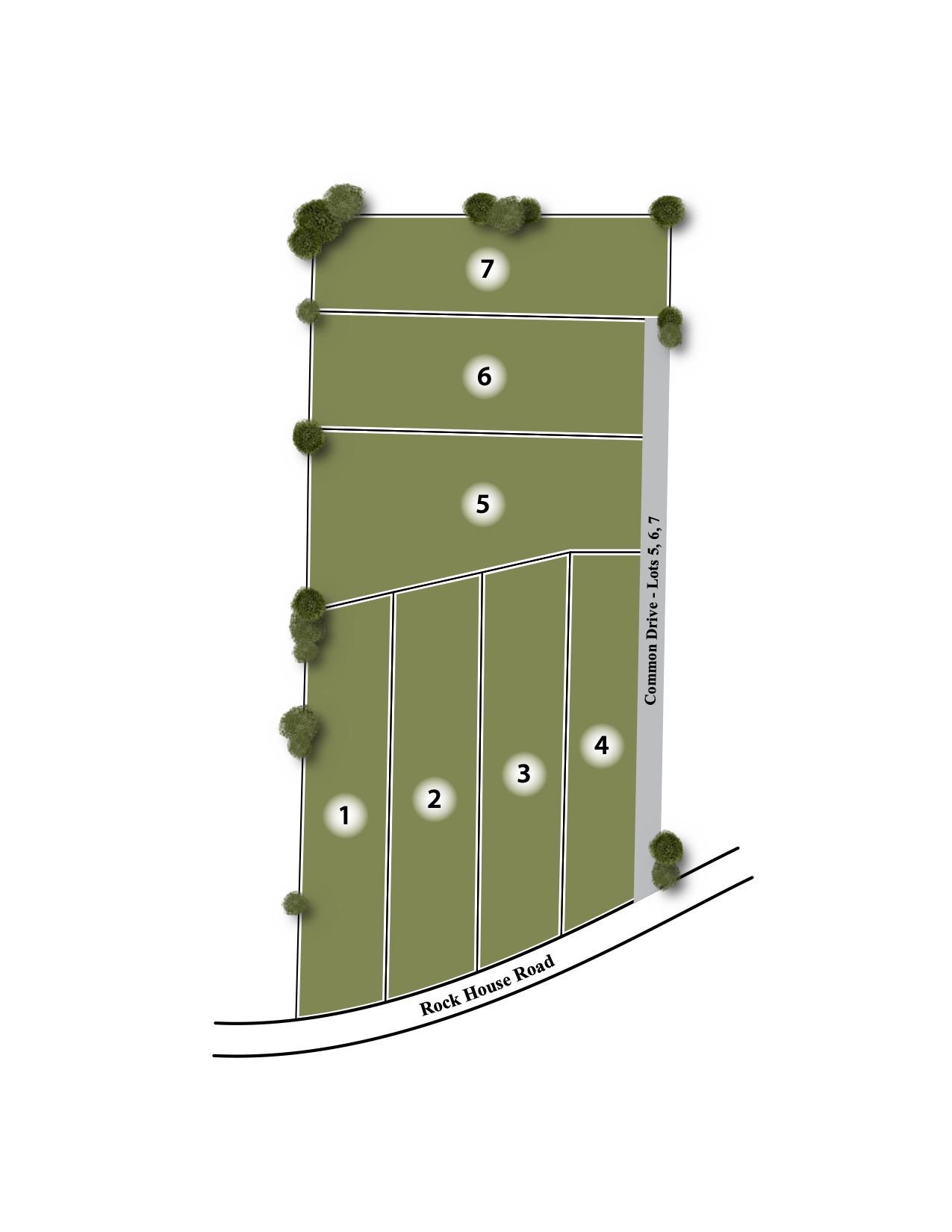 Cheryl Estates Site Map