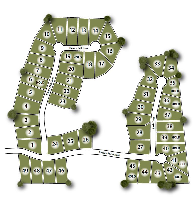 Reagan Farm Site Map